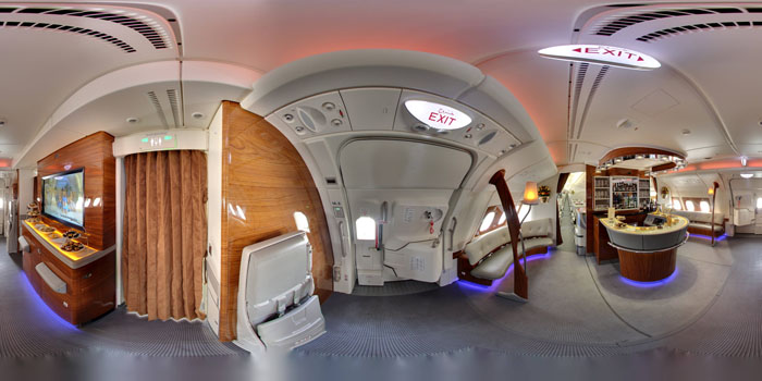 Inside Airbus A380